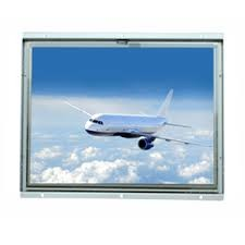 "5 Wire Resistive Touch Sunlight Readable LCD Monitor 17""  LED Backlight  Industrial Design"