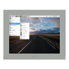 17 inch Advertisting IP65 Touch Screen Monitor IR Touch With Aliumnium Bezel